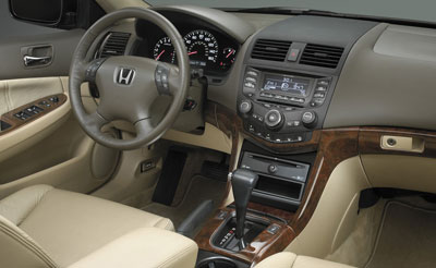 2007 Honda Accord Burlwood Look Trim Kit