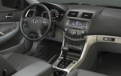 2007 Honda Accord Metal Look Trim Kit