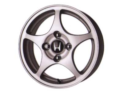 2002 Honda Accord 15 inch 5-Spoke Machine Finish Alloy W 08W15-S84-100