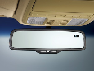 2008 Honda Accord Auto Day/Night Mirror with Compass