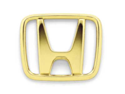 2002 Honda Accord Gold Center Cap Emblem Kit 08W40-S84-100