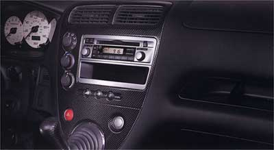 2004 honda civic si carbon fiber look trim kit 08z03 s5t 100b for 2004 honda civic interior parts