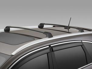 2012 Honda CR-V Cross Bars with Roof Rails 08L04-T0A-100