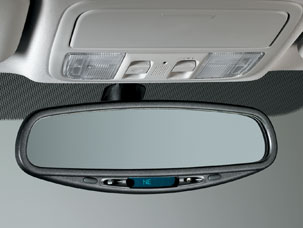 2010 Honda CR-V Auto Day/Night Mirror with Compass
