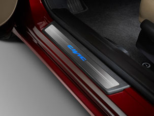 2015 Honda Civic Hybrid Door Sill Trim - Illuminated 08E12-TR0-110