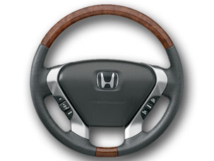 2008 Honda Pilot Wood Steering Wheel Trim 08U97-S9V-112A