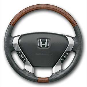 2004 Honda Pilot Wood-Grain Steering Wheel 08U97-S9V-110