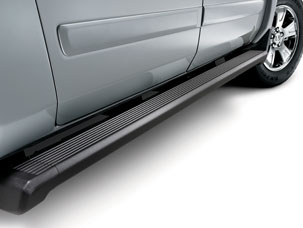 2011 Honda Ridgeline Rectangular Side Steps 08L33-SJC-100B